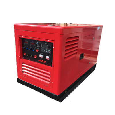 15kva Water Cooled Genset 500A Welder Generator , Diesel Engine ARC Welding Machine IP23